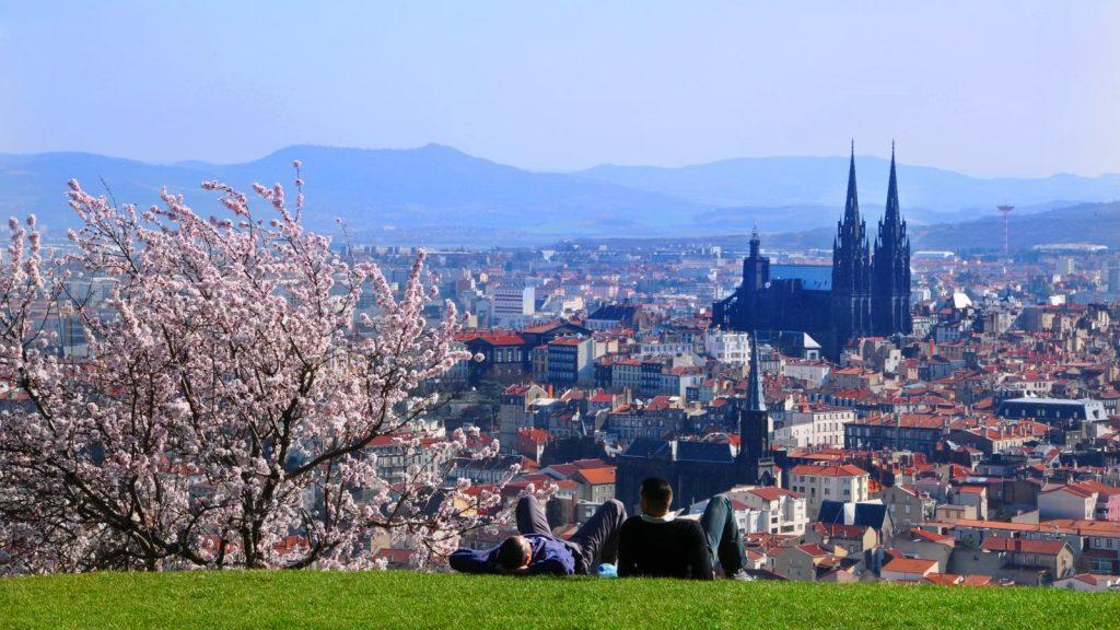 Le parc de Montjuzet à Clermont-Ferrand